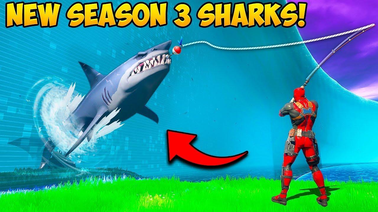 *NEW* SEASON 3 SHARKS ARE INSANE!! - Fortnite Funny Fails and WTF Moments! #946