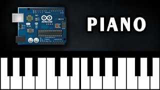 Arduino Piano with 4x4 Keypad