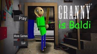 WHAT IF GRANNY WAS BALDI? (BRANNY?)   Granny (Horror Game)