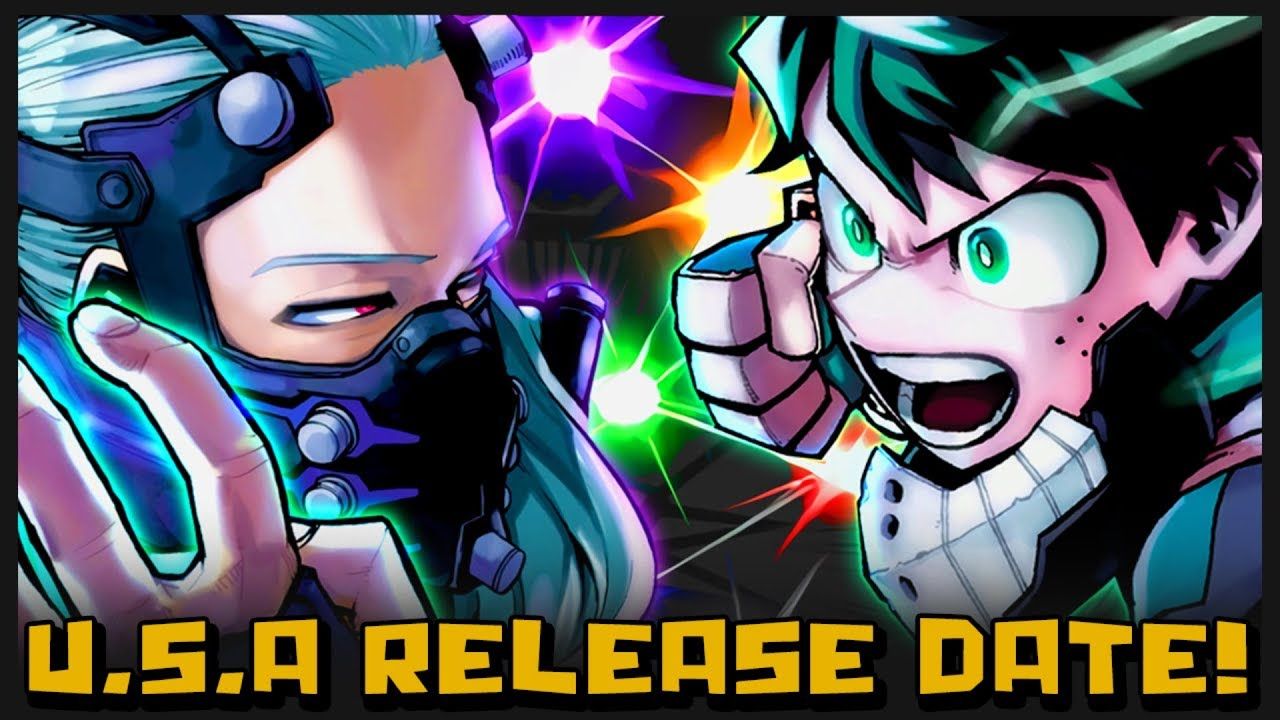 The Official Release Date My Hero Academia Heroes Rising