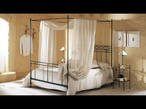 Awesome Stainless Steel Canopy Bed Design Ideas