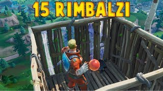 FORTNITE - REALIZE 15 BOUNCES WITH A LANCIO ONLY USING THE RIMBALZANTE BALL TOY