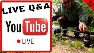 🔴 CARP FISHING IN SPRING - SUNDAY NIGHT LIVE Q&A 😀