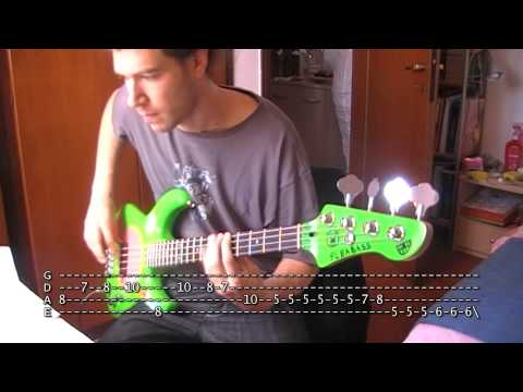 Soul To Squeeze bass TAB Red Hot Chili Peppers
