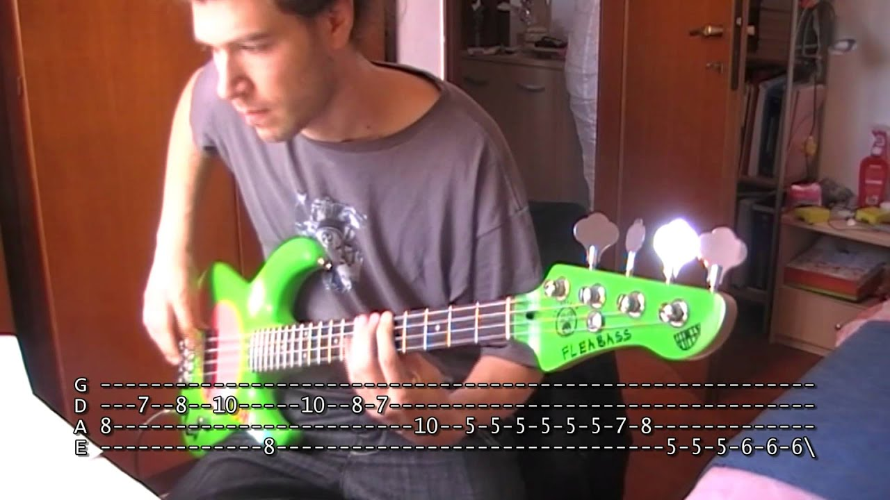 how to play soul to squeeze on bass