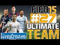 LIVESTREAM - FIFA 15 - Ultimate Team #27 - Tentando Sair da Crise! | S01E27 [PS4]