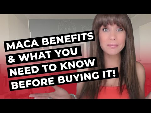 Maca Benefits & What You Need To Know Before Buying it!