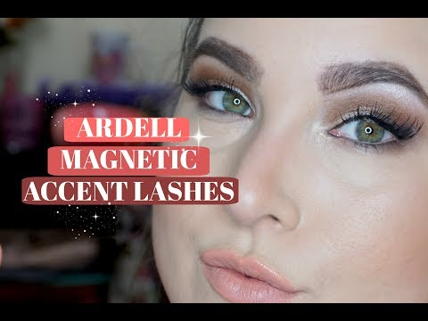 a951336b57a Ardell MAGNETIC Accent Lash Review! - YouTube
