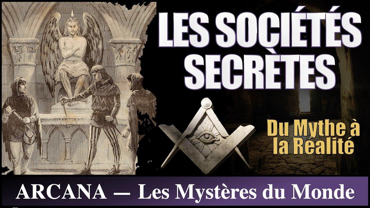 Les sociétés secrètes, mythe fantasme et réalité