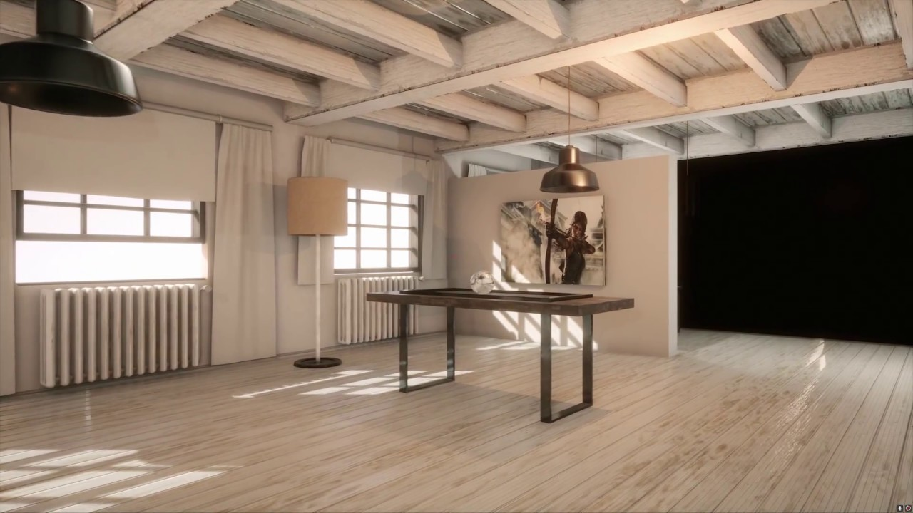 Interieur 3D Design Unreal Engine 4