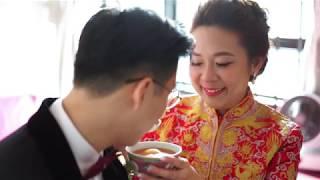 [BV الزفاف] سنغافورة الفعلية يوم الزفاف تسليط الضوء على الفيديو - سيلين & ديفيد