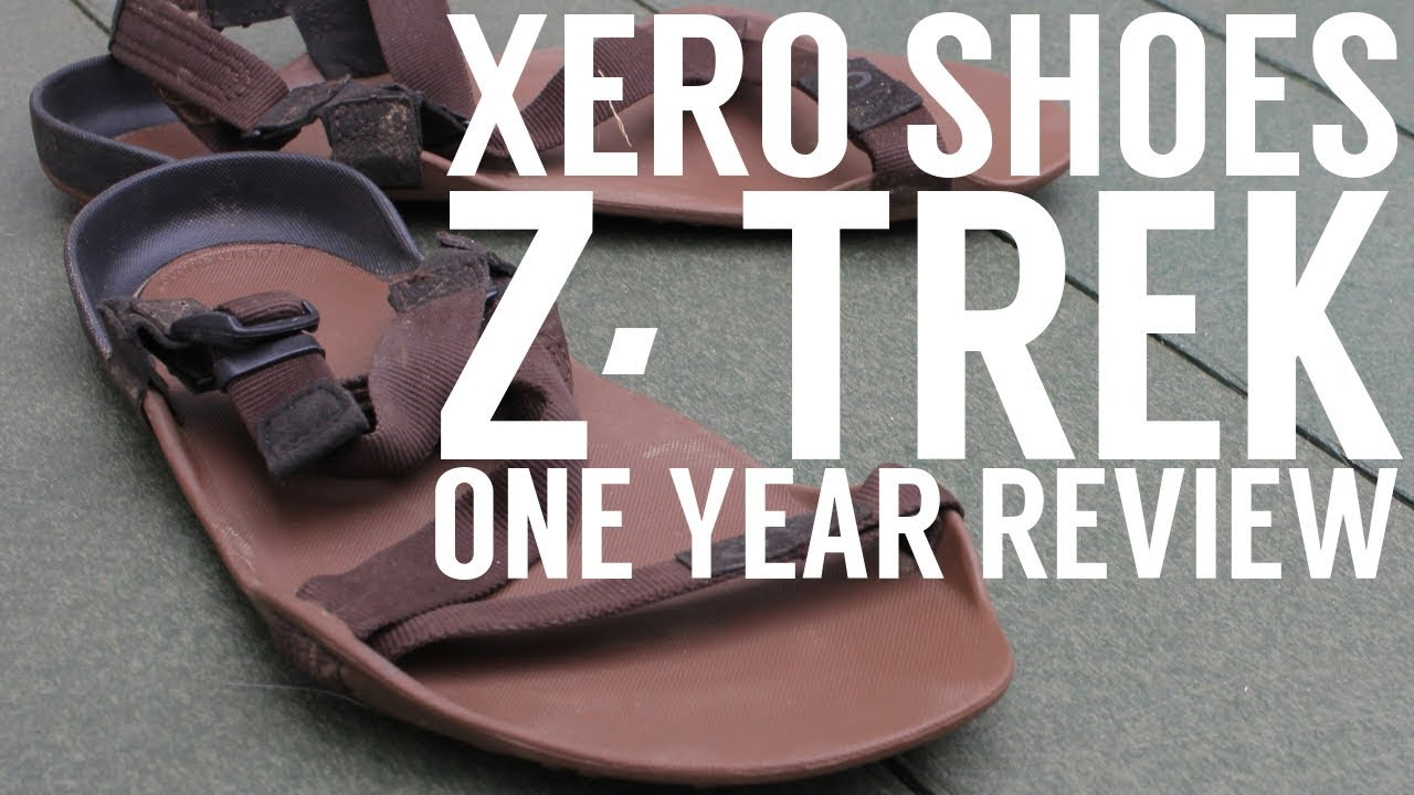 1213f1181200 Xero Shoes Z-Trek Sandals Review - Best Backpacking Sandals   - YouTube
