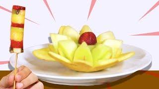 Meyveler ile Zengin Tabakları Yaptık - Yeme De Yanında Yat