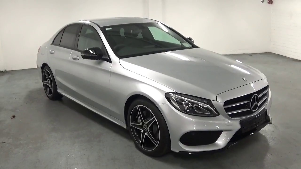 Cmg Mercedes Benz C200d Amg A T With Night Pack Youtube