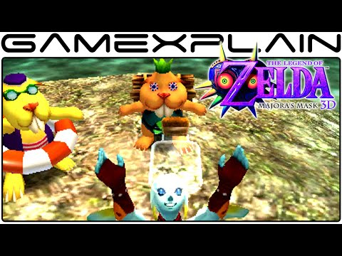 Beaver Race in Zelda: Majora's Mask 3D