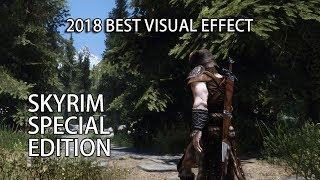 Skyrim Special Edition | 2018 THE BEST GRAPHICS SHOWCASE AND GAMEPLAY | NO NEED TESVI?
