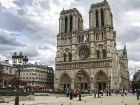 Экскурсия по собору Парижской Богоматери. Париж. (часть 1) 2013