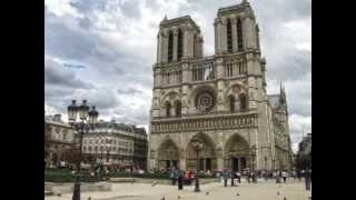 Экскурсия по собору Парижской Богоматери. Париж. (часть 1) 2013(, 2015-01-05T15:35:22.000Z)