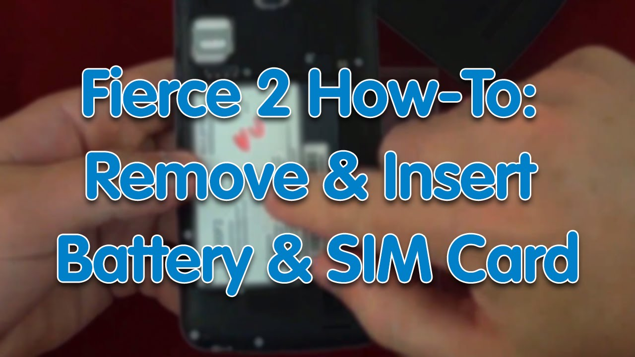 how to insert a sim card into an iphone 5s how to fierce 2 remove insert battery and sim card 21515