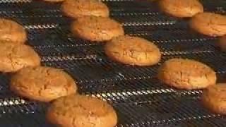 Производство овсяного печенья