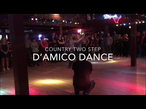D'Amico Dance Country Two-Step at Wild West Houston, Texas