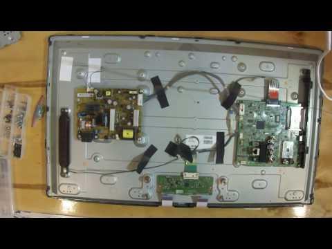 видео: Как разобрать ЖК панель (телевизор) для ремонта подсветки