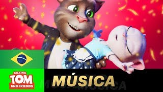 Prontos para o maior clipe musical de Talking Tom and Friends DE TO...