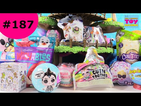 Blind Bag Treehouse #187 Unboxing LOL Surprise Boys Disney Toy Story Toys | PSToyReviews