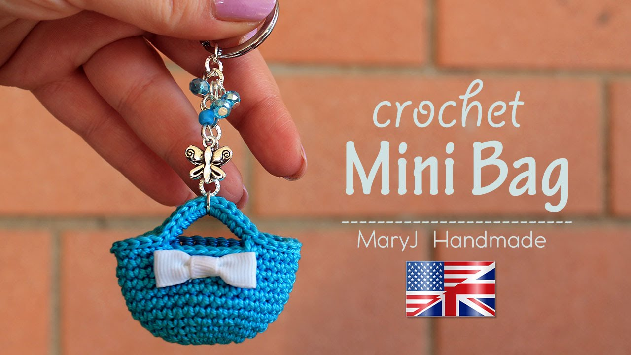 Tutorial crochet miniature bag youtube bankloansurffo Images