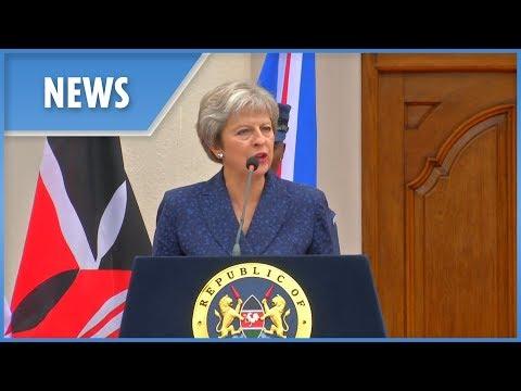 Theresa May on British businesses in Kenya