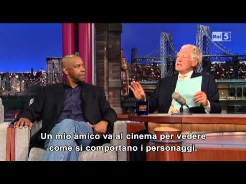 Denzel Washington al David Letterman 29-07-2013 (sub ita)