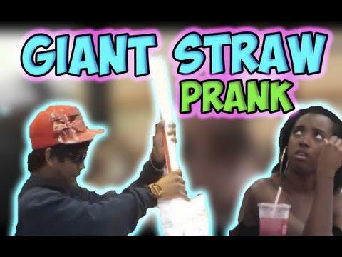 Big Straw Prank
