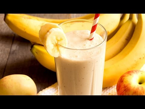 Apple Banana Smoothie | Healthy Juice Recipes