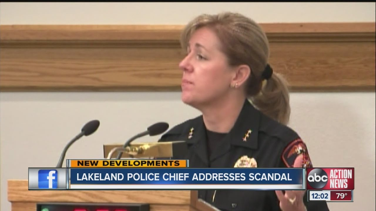 Lakeland Police chief addresses scandal - YouTube 9d96dcc97