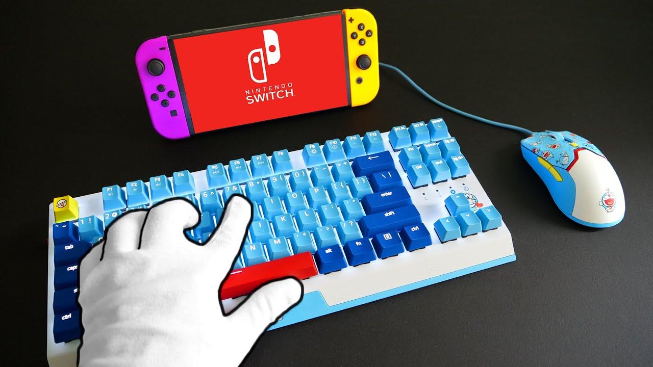 Keyboard & Mouse on NINTENDO SWITCH (Doraemon Setup)