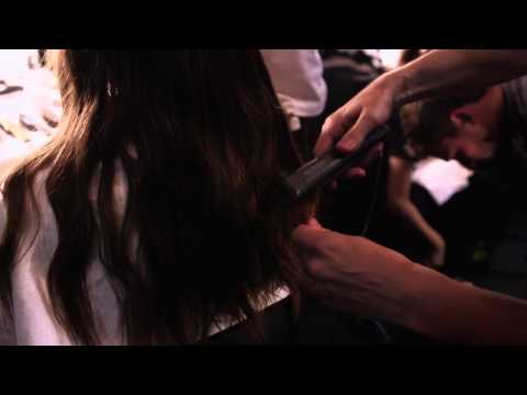 Hair how-to: The Undone Braided Wave by Paul Hanlon - MBFW S/S 2015