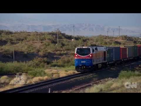 Kazakhstan's expanding railway network