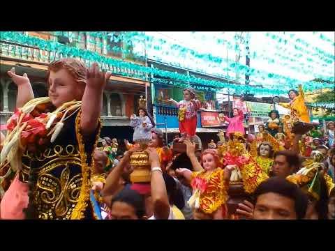 LAKBAYAW 2018 Tondo Manila: Parada Ng Mga Imahen Ng Poong STO.NINO