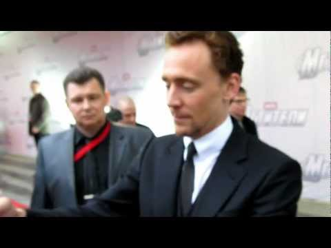 Tom Hiddleston, 17.04.2012, The Avengers, Moscow, Russia Premiere