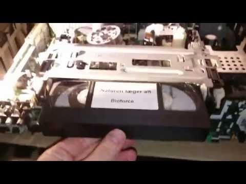 panasonic nvhs950ec tape wont start or eject