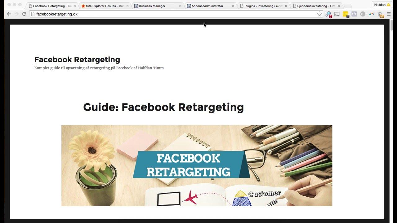 facebook guide dansk