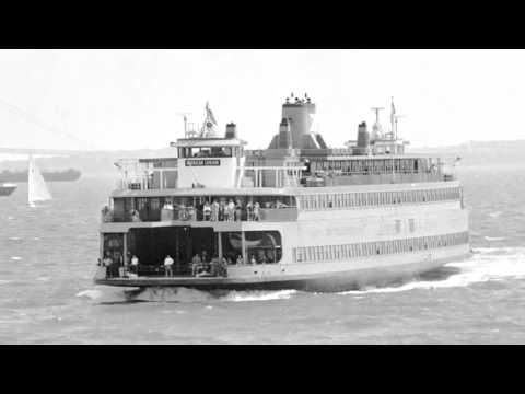 Vintage Staten Island Ferry video