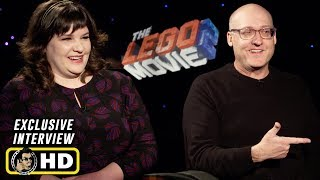 Mike Mitchell And Trisha Gum - Interview For The LEGO Movie 2