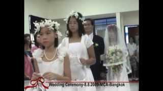 Cing Khan Uap & Dal Mun Khai  Wedding  8 8 2009 Bangkok  MCA