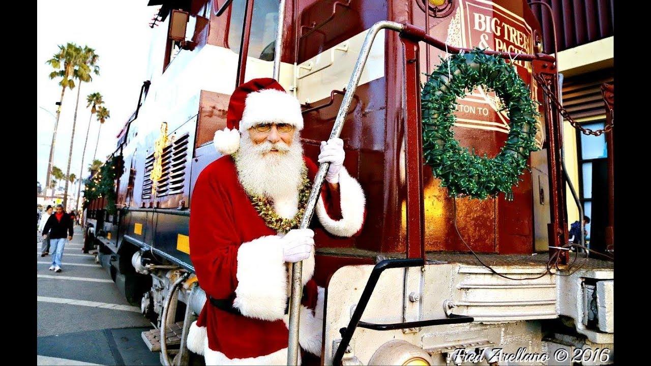 santa cruz holiday lights train 2017