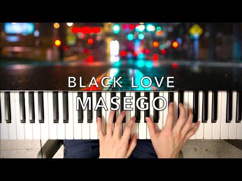 Download Masego - Black Love - Piano Cover
