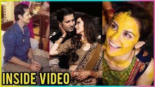 Sumeet Vyas And Ekta Kaul Haldi, Mehendi & Sangeet Ceremony   Inside Video
