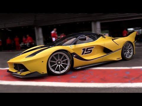 BEST of Ferrari Corse Clienti  - 1 HOUR SPECIAL! FXX-K, F1,599XX!