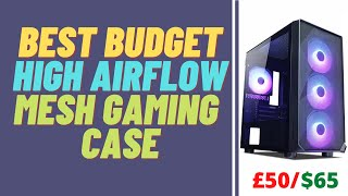 Best Budget High Airflow Mesh Gaming Case | Tecware Forge M ARGB