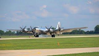 B-29 Doc Arrives at Oshkosh
